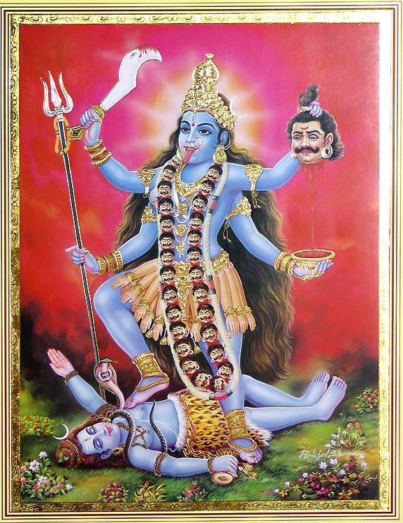 Goddess-kali